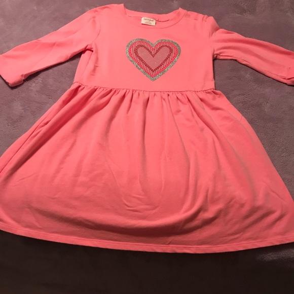 2dacf79b9c Cat & Jack Other - 🌈🌈Cat & Jack Girls pink heart sweatshirt dress